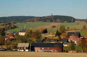 Hinterhermsdorf, Dorfpanorama